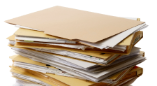 Tax papers piling up?